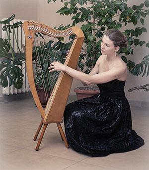 Oleksandra Shkalina (harp, Ukraine)