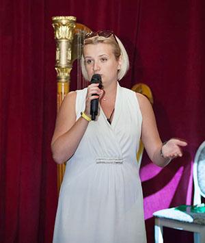 Katerina Zhigalova ( musicologist, Ukraine)