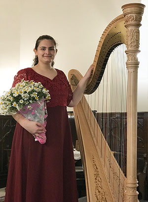 Bahar Asci (harp, Turkey)